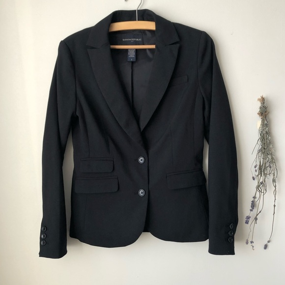 Banana Republic | Black Blazer